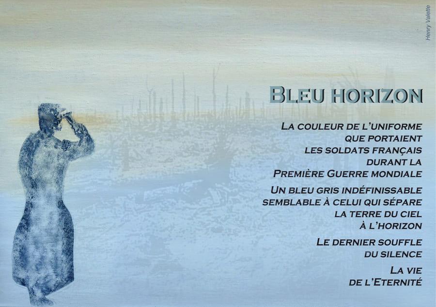 Larmes Bleu Horizon